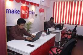 Makemytrip process hiring for CCE / Office Assistant/ backend process