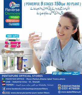 9 Stages 150gpd Ro Plant - PentaPure Water Filter