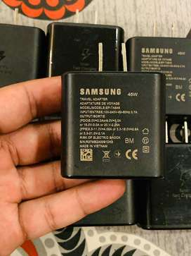 Samsung 45W charger note 10plus sasung S20 ultra 100% original charger