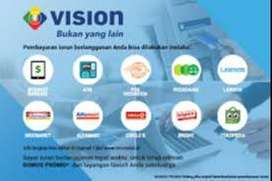 Parabola MNC vision Indovision Digital Bebas Gangguan