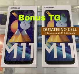 Samsung M11 3/32 baterai 5000mAh Garansi Resmi, bonus TG