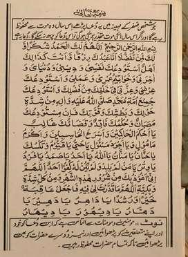 I'm a Urdu , arabic(quran) teacher