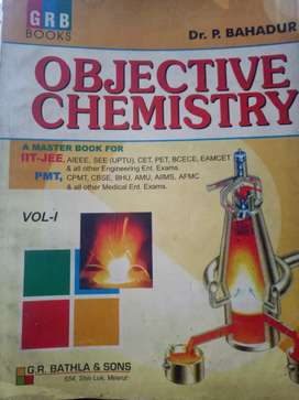 Objetive Chemistry by Dr.P.Bahadur Vol.1