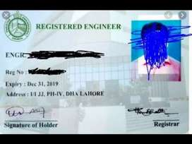 Bsc civil, electrical engineers required for firms renewal