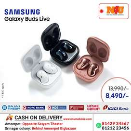 Samsung Buds live now available at N4U on offer upto 35% off