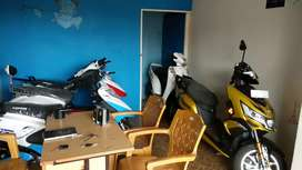 Electric scooter showroom at Jajpur road