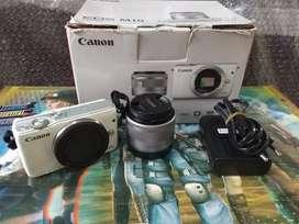 Dijual Kamera Canon Eos M10 15-45MM (Putih)