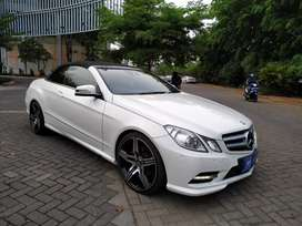 Mercedes-benz E250 Cabriolet 2013
