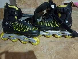 Sepatu roda cougar original kuning