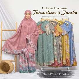 Mukena batik premium jumbo