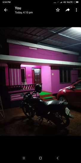 800 sqft house in 6 3/4  cent.2km to Vimala college, engineering clge.