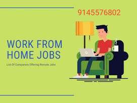 Here we have Data entry part time jobs at home
