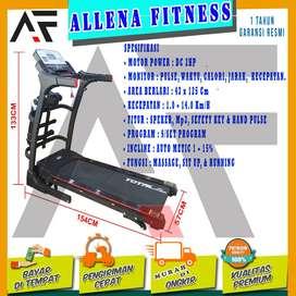 Alat Fitness Treadmill Elektrik TL-630 / Treadmil Electric Auto Inclin