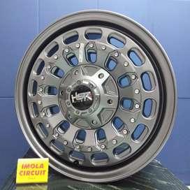 Ring 16 Veleg Racing Mobil Daihatsu Lubang 5x139,7 HSR MYTH 07 GREEY