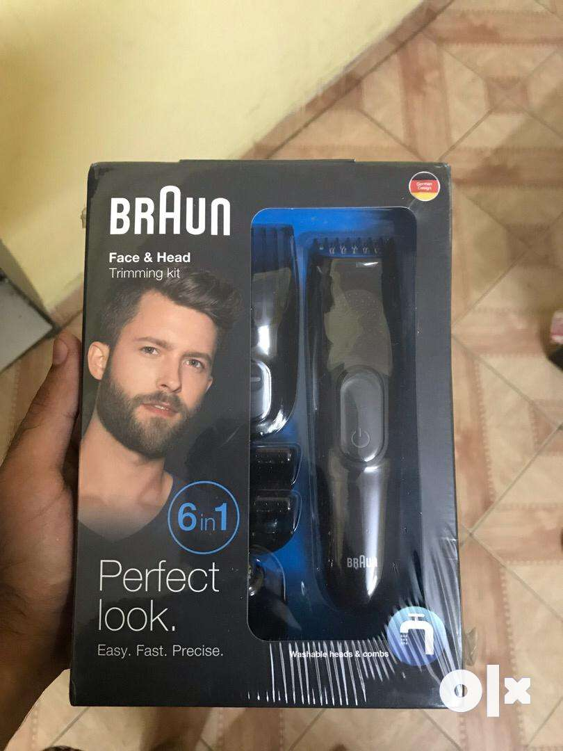 Rs 3000 braun trimmer sealed pack brand new 0