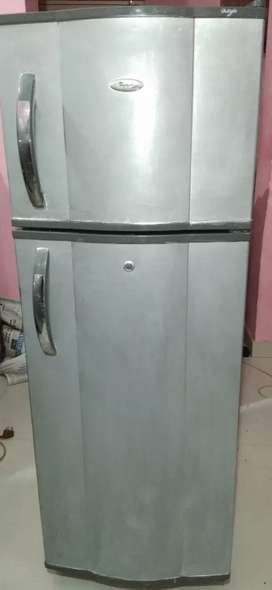 Whirlpool double door fridge