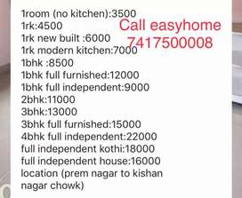 without owner 1room no kitchen Rajendra Nagar