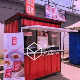 CONTAINER CAFE - CONTAINER SEAFOOD - CONTAINER USAHA ANGKRINGAN