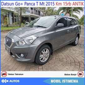 [Dp10jt] Datsun Go+ Panca T Manual 2015 KM 15rb ANTIK Kredit Murah