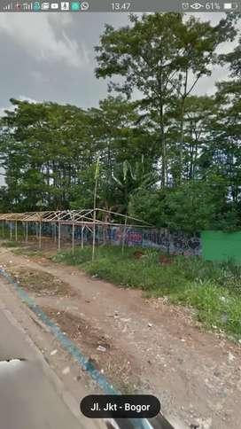 Dijual Kavling Pinggir Jalan  Ciputat Parung Lokasi Strategis