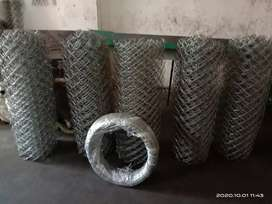 Galvanized Barbed wire & other Security Products