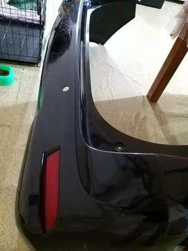 Bumper belakang all new avanza g warna hitam