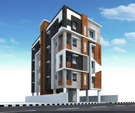 2bed room east facing flat for sale in Madhurawada near to high way