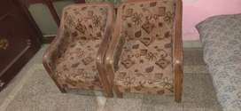 5 Seater sofa set in Rs. 5000.