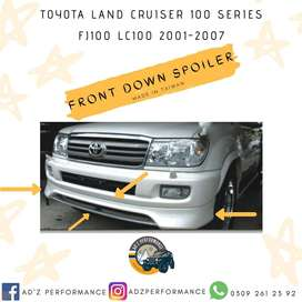 Toyota Land Cruiser FJ100 LC100 Front Bumper Extension Spoiler