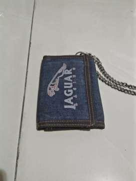 Jual dompet bahan jeans keren gan blm pernah pakai