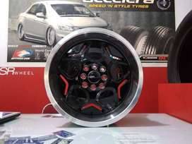Velg Mobil Racing HSR  MYTH04 HSR R16X7 8 H8X100-114,3 ET40 35 BML