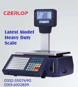 label printing & Receipt printing weighing scale  for Bakeries