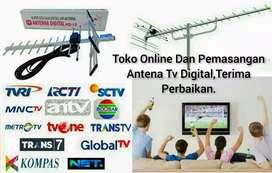 Pemasangan Sinyal Antena Tv Uhf Analog Digital Berkualitas.