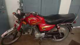 Eagle motorcycle 2016 model good condition rawalpindi no for sale