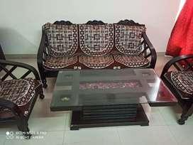 Urgent Sofa 3+2, Center Table, Study Table, Comfort Plastic Chair