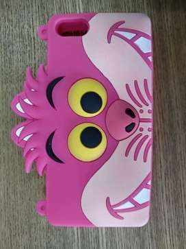 Casing Silicon 3D Disney Iphone 5