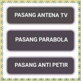 Ahli pemasangan Antena Tv, Parabola dan Penagkal
