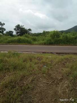 Road touch  2 acre open land for rent