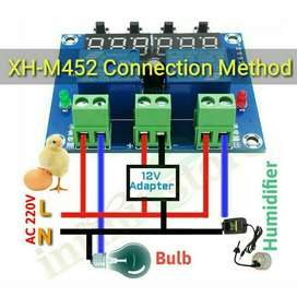 XH-M452 DC 12V LED Digital Thermostat Temperature Humidity Controller