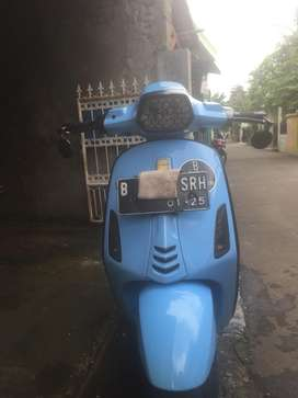 Vespa Matic Sprint baby blue