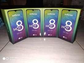 Infinix hot 8 ram 4/64 new murah bgtt
