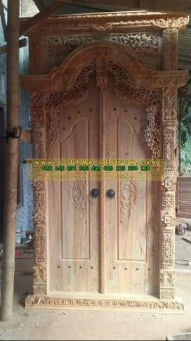 cuci gudang pintu gebyok gapuro jendela rumah masjid musholla vida