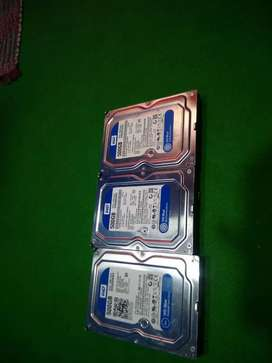 500 gb HD dekstop & lap( one piece) 100% helth no bargaining fixd rate
