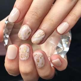 nail art kuku gel beautician therapist