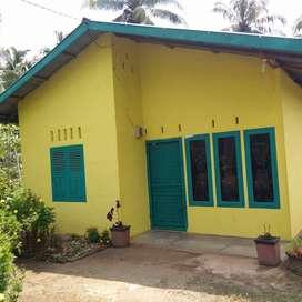 Rumah Siap Huni + Halaman