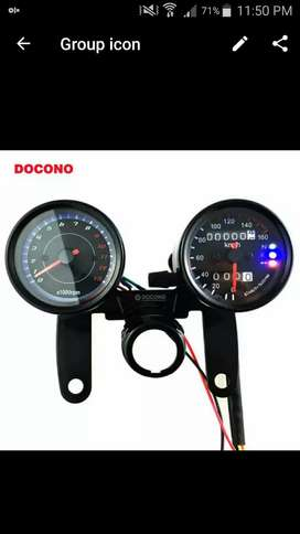 Double digital and race meter fancy and expensive item more categories