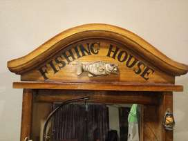Fishing House mirror