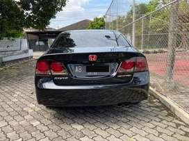 Honda Civic FD1 AT 2010 AB Hitam Batman 1.8 Matic Istimewa Full Audio