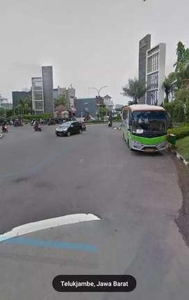 Lahan kavling pinggir jalan raya perumnas-galuhmas karawang