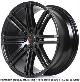 wheel PANTHEON 80623 HSR R17X75 H8X100-114,3 ET38 SMB